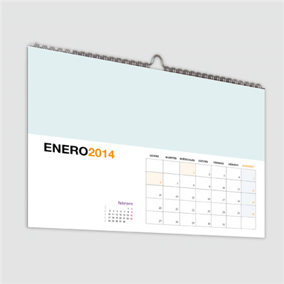 Calendario Pared din-A3 horizontal