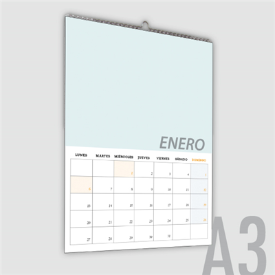 Calendario Pared din-A3 vertical